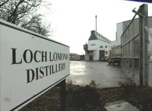 Distillery Loch Lomond ( Inchmurrin )