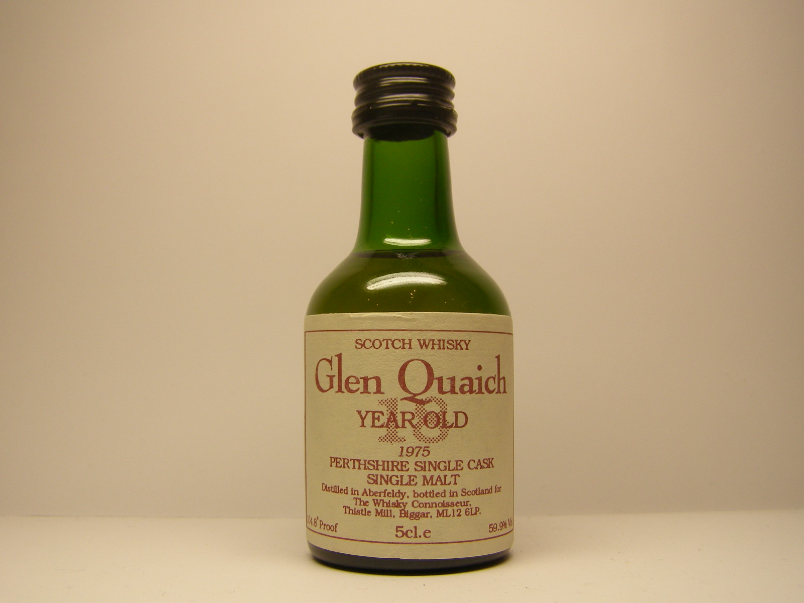 GLEN QUAICH PSCSMSW 18yo 1975 5cl.e 104,8´Proof 59,9%Vol.