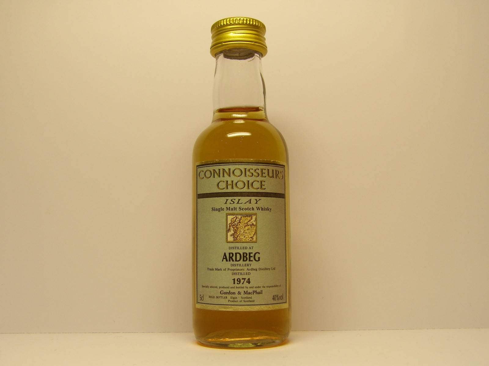 "ISMSW 1974 ""Connoisseurs Choice"" 5cl 40%vol"