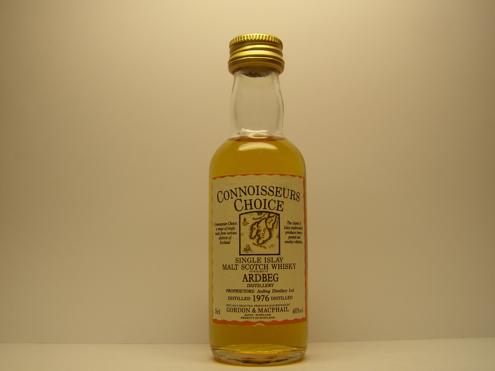 "SIMSW 1976 ""Connoisseurs Choice"" 5cl 40%vol"