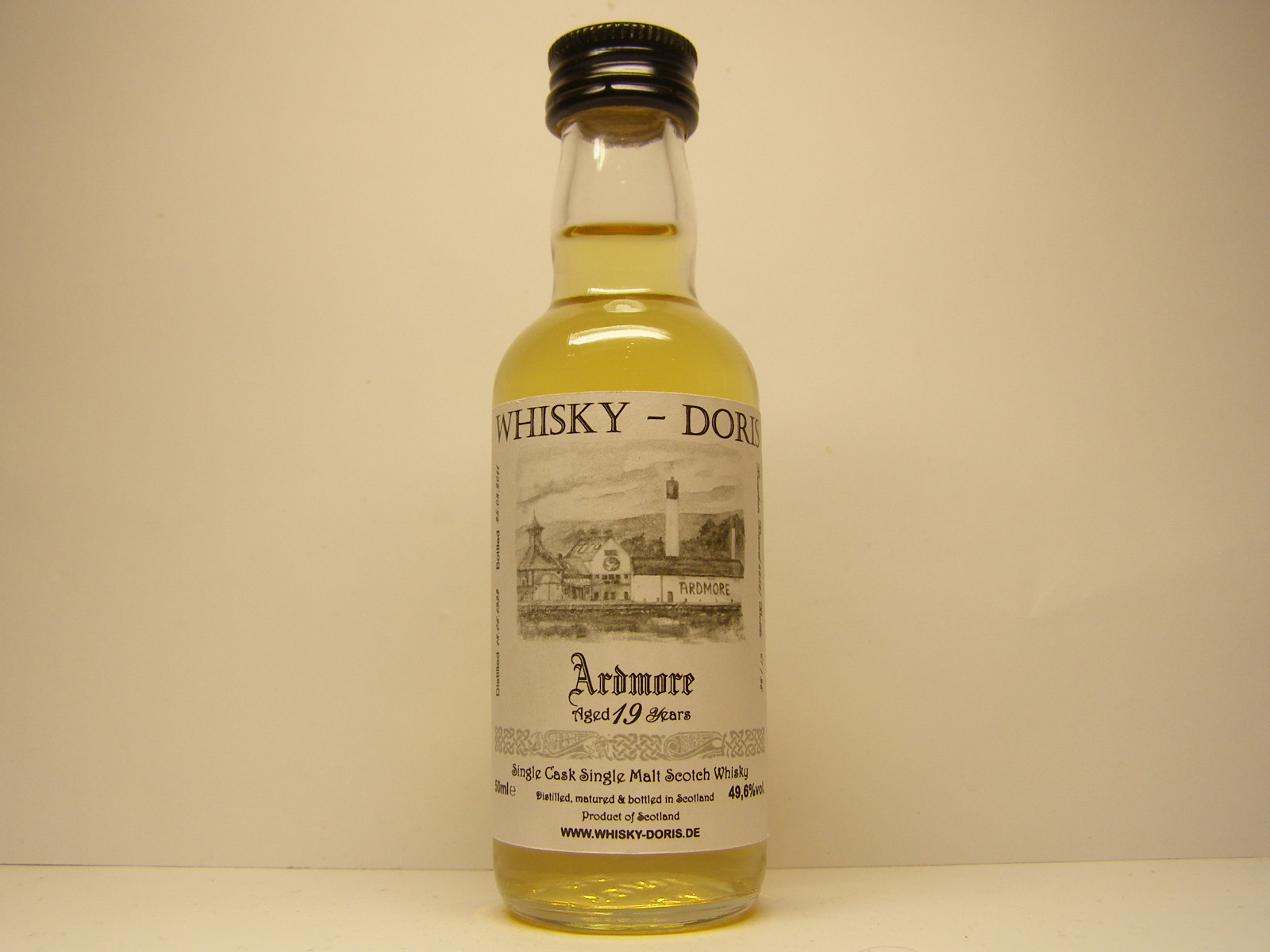 "SCSMSW 19yo 1992-2011 ""Whisky - Doris"" 50mle 49,6%vol."