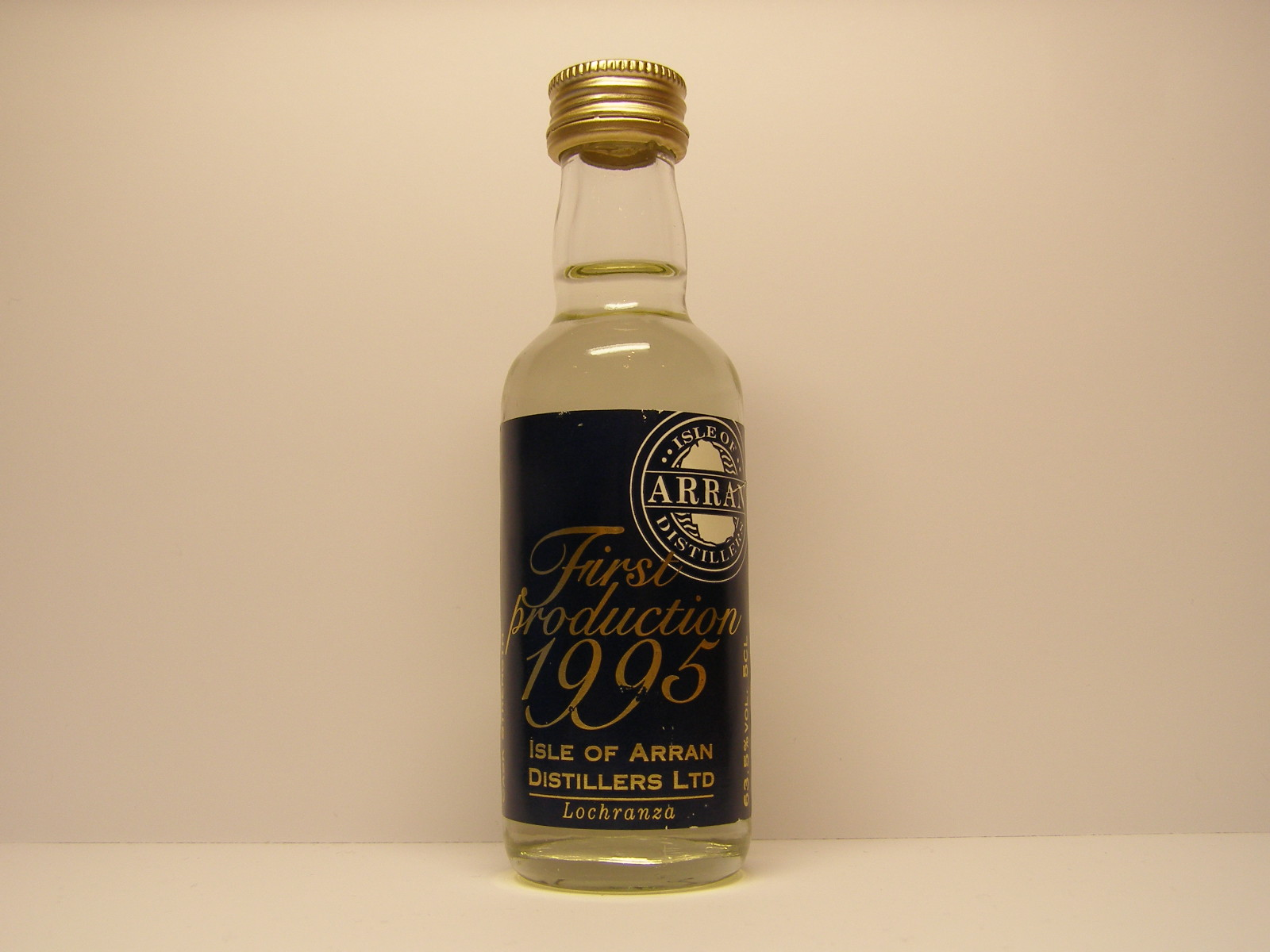 First production 1995 5CL 63,5%VOL.