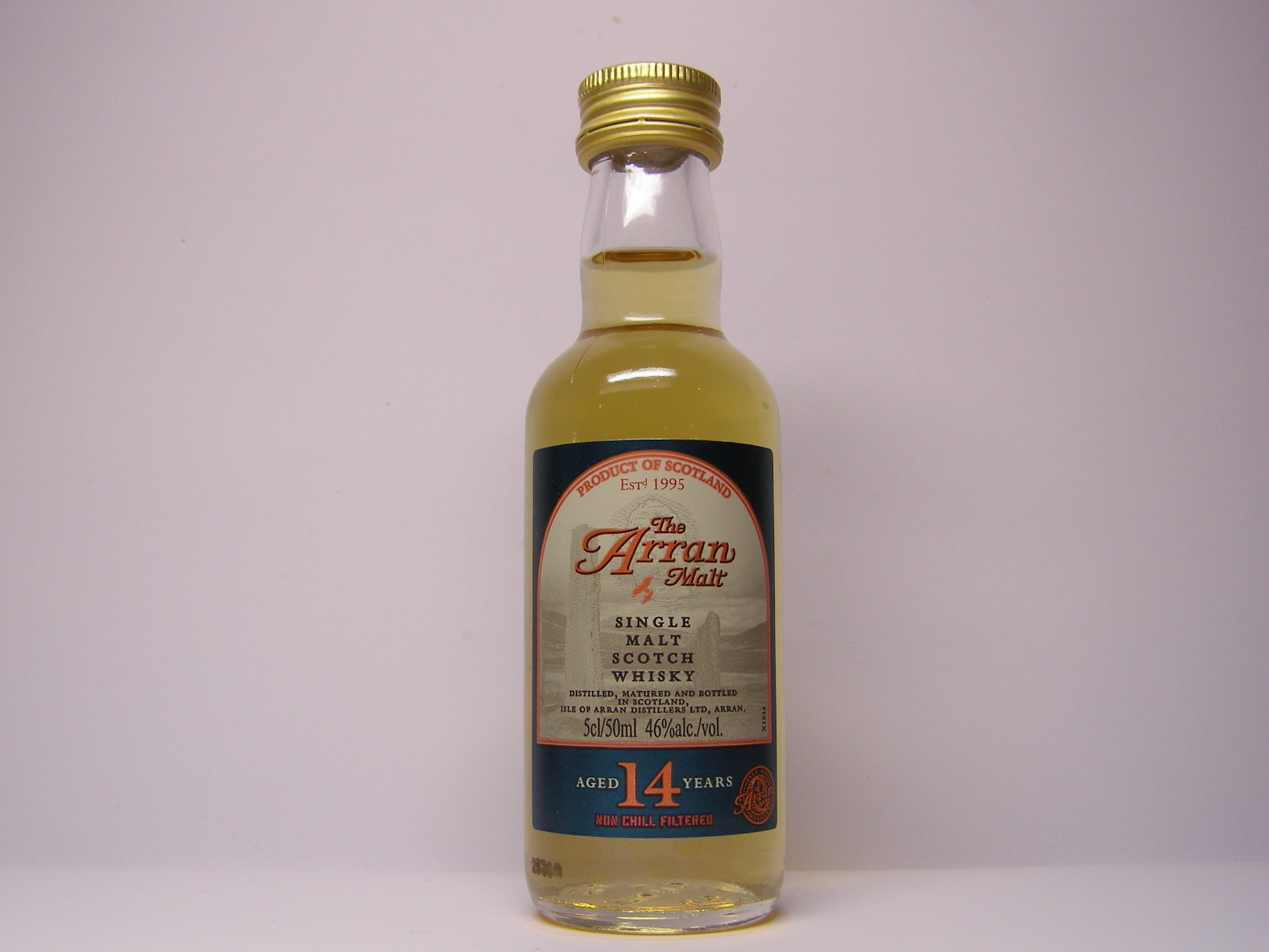 SMSW 14yo 5cl/50ml 46%alc./vol.