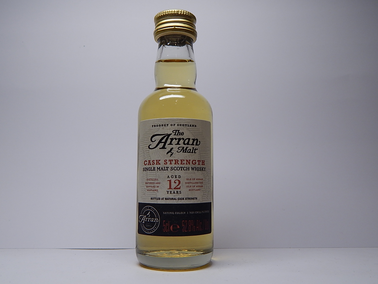 CASK STRENGTH SMSW 12yo 5cle 52,8%Alc./Vol.