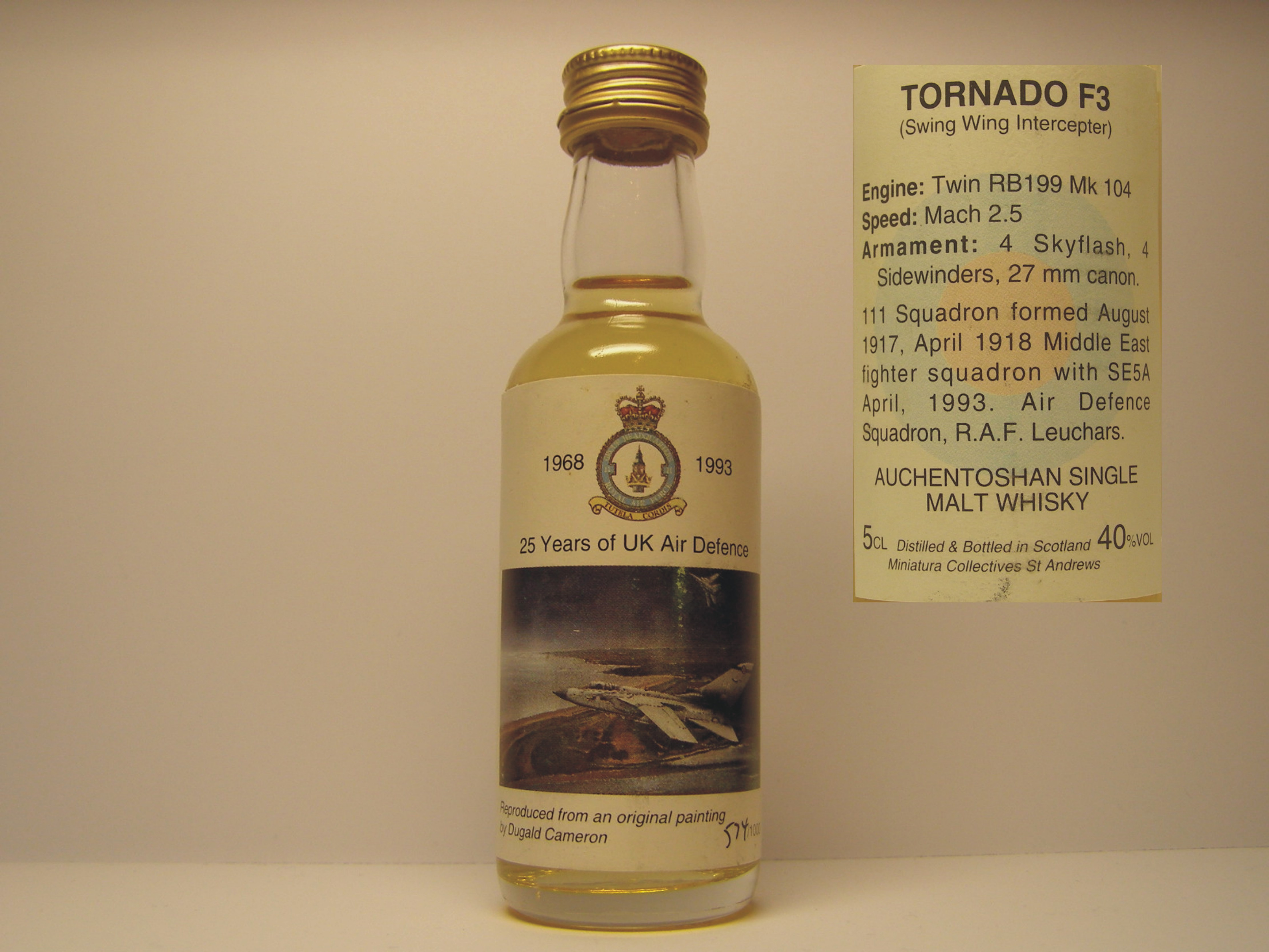 TORNADO F3 SMW 5CL 40%VOL