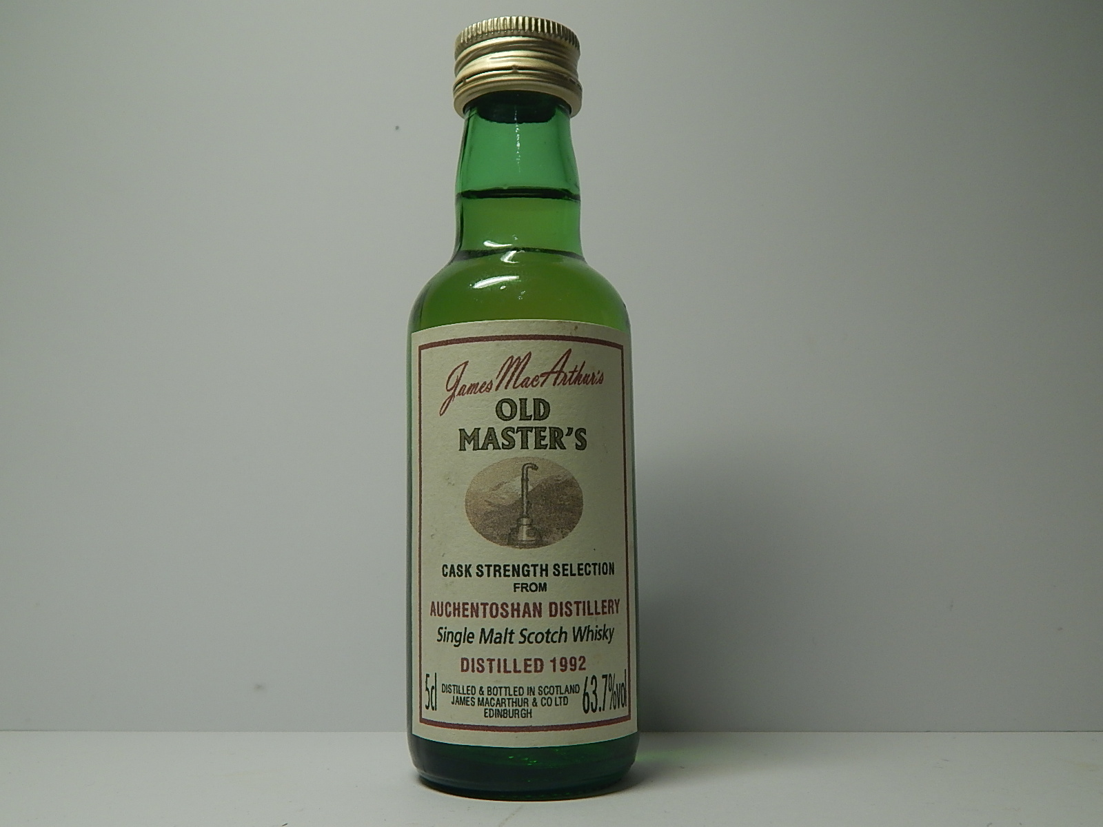 "Old Master´s SMSW 1992 ""James MacArthur´s"" 5cl 63,7%vol"
