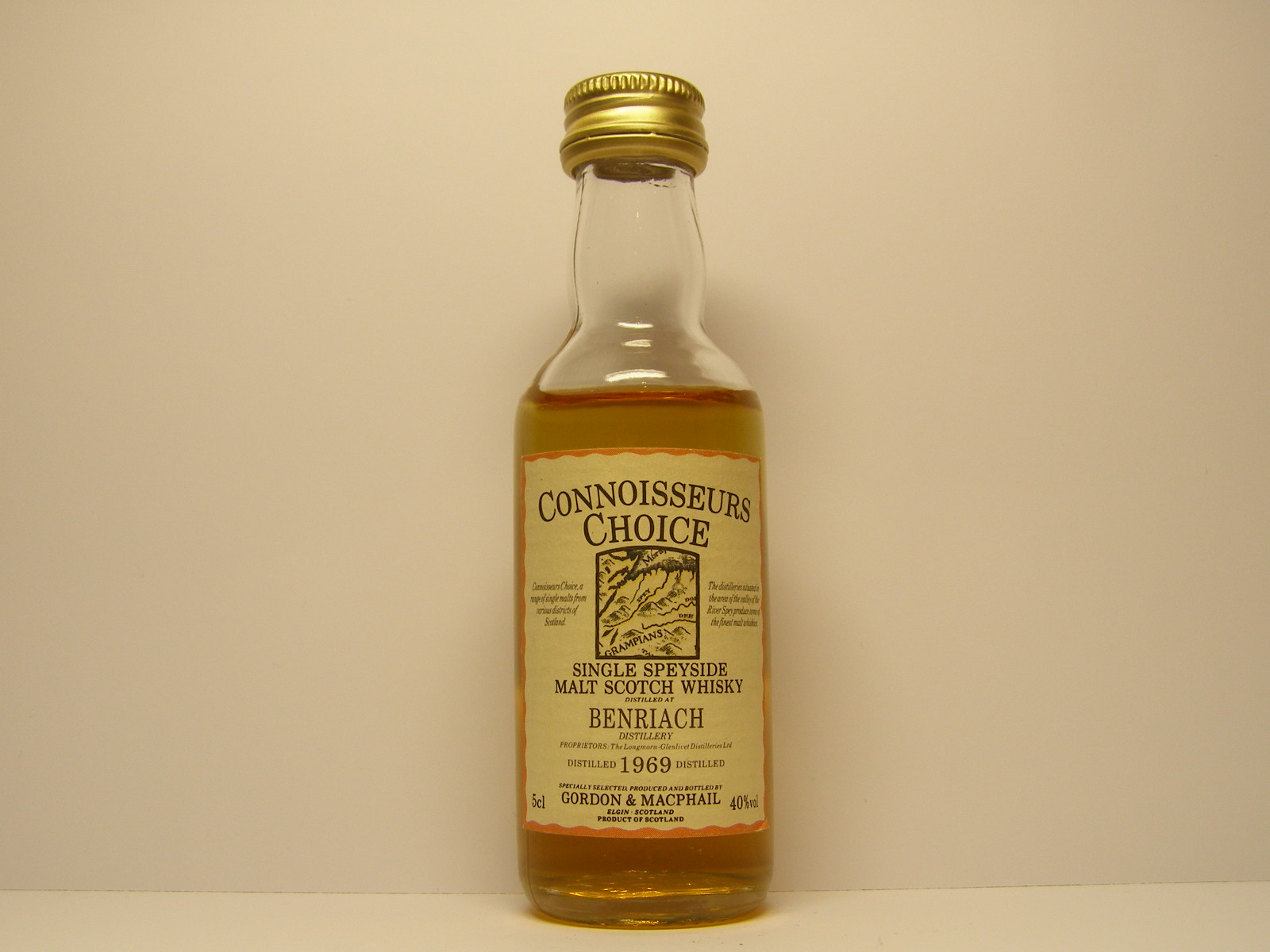 "SSMSW 1969 ""Connoisseurs Choice"" 5cl 40%vol"