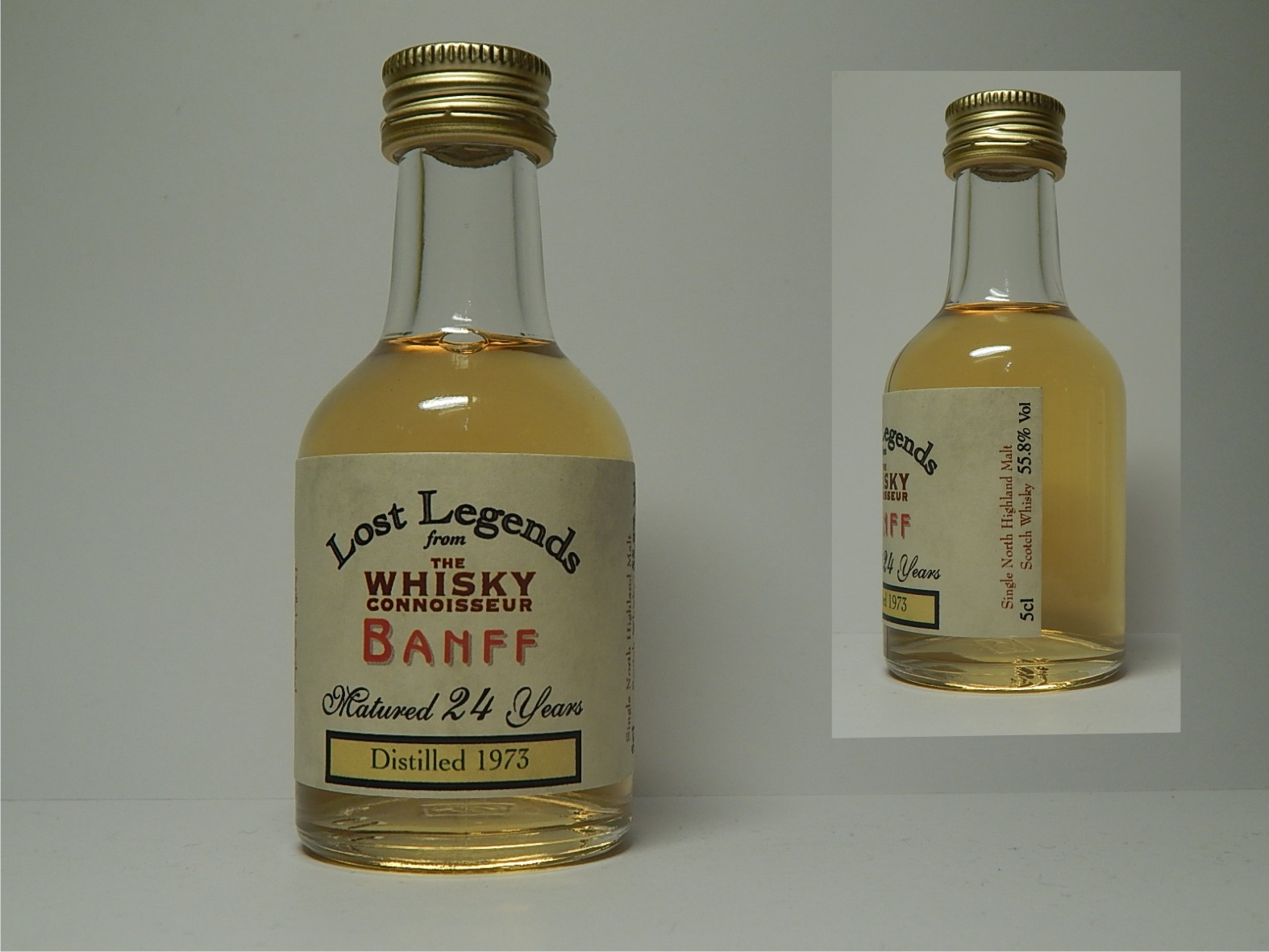 "Lost Legends SNHMSW 24yo 1973 ""Whisky Connoisseur"" 5cl 55,8%Vol"