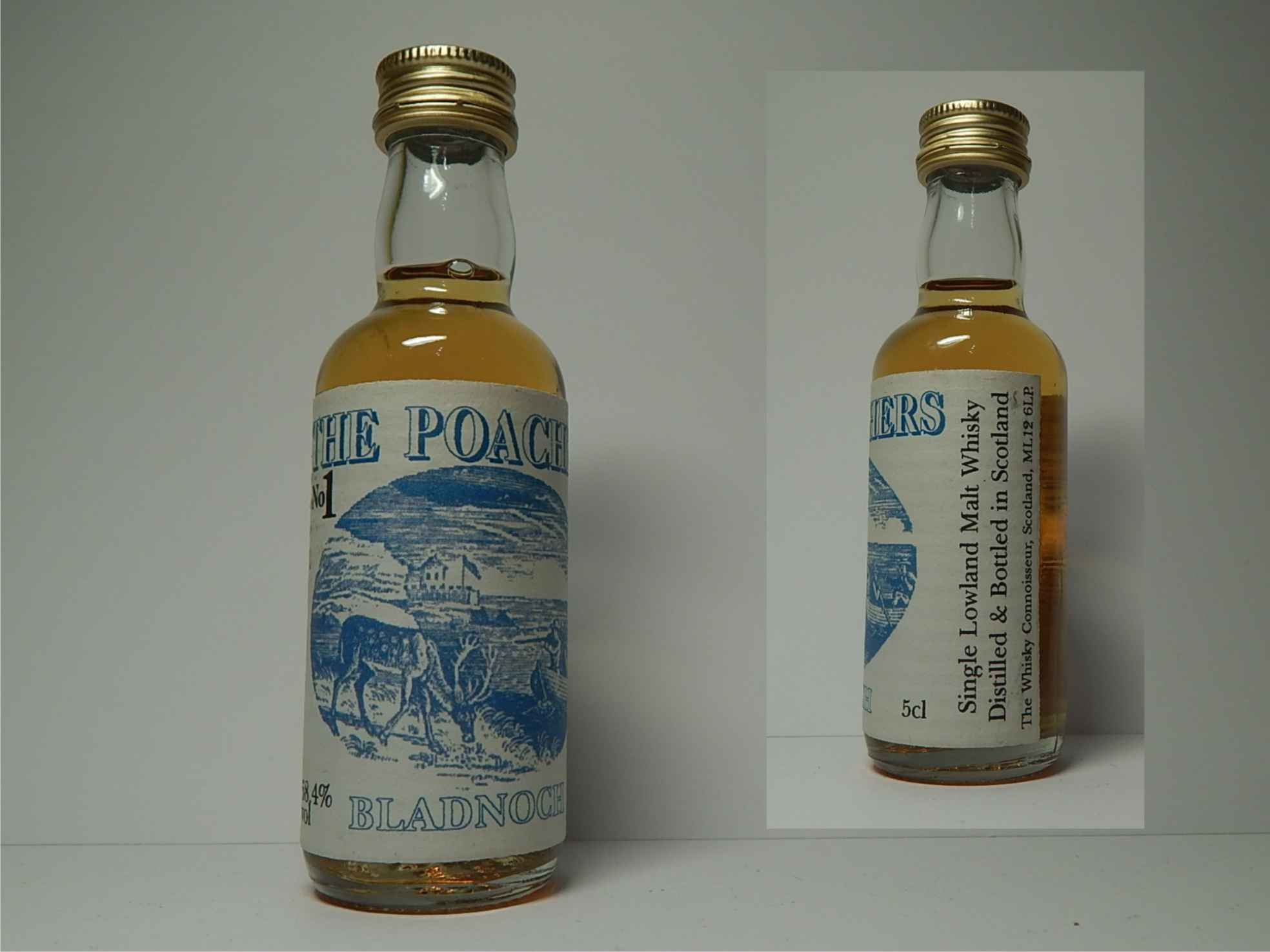 "THE POACHERS No.1 SLMW ""Whisky Connoisseur"" 5cl 58,4%vol"