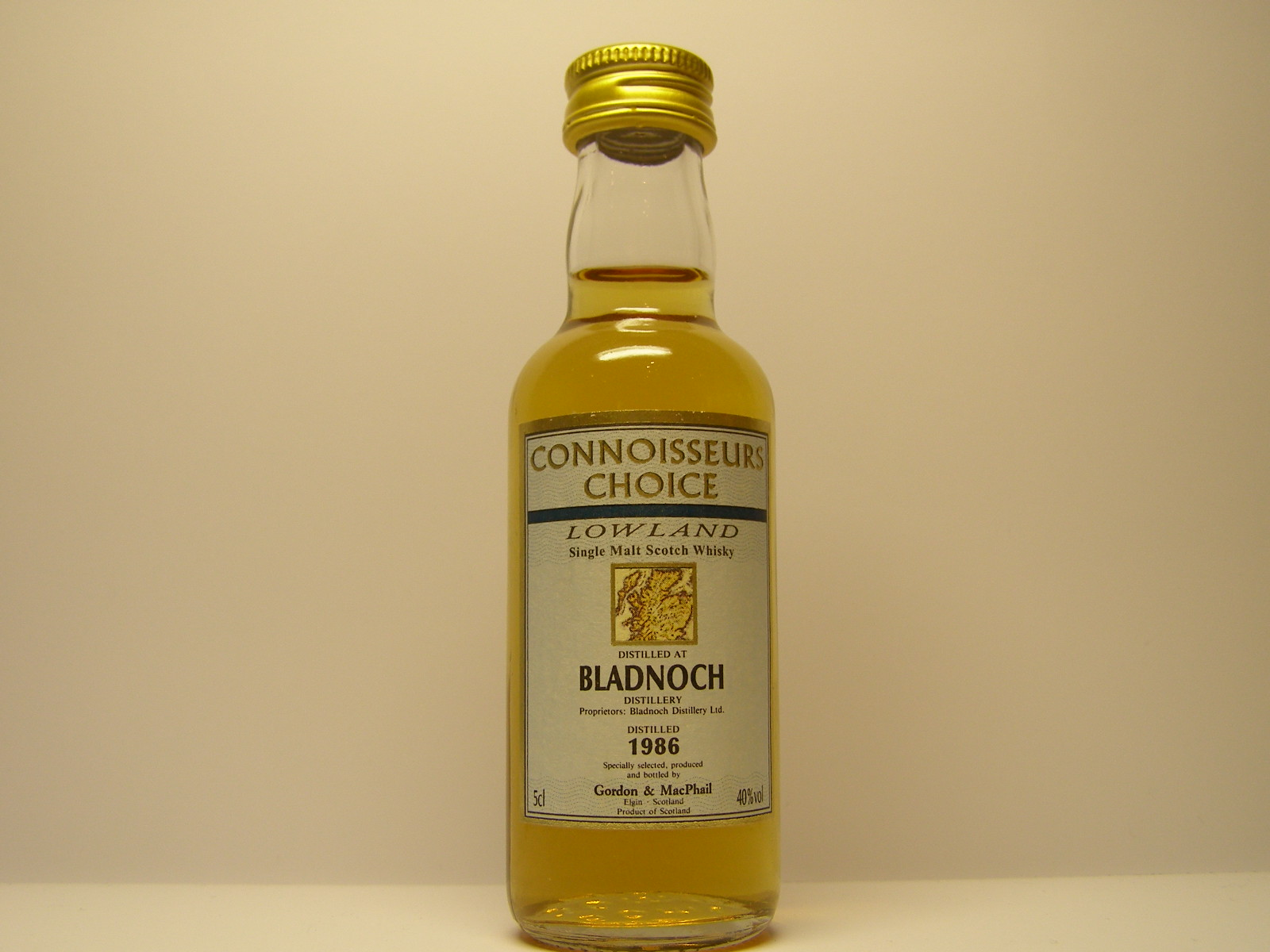 "LSMSW 1986 ""Connoisseurs Choice"" 5cl 40%vol"