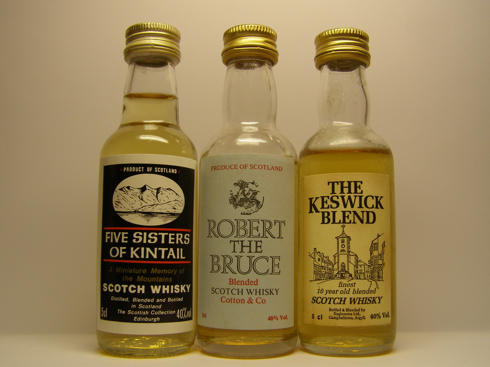 FIVE SISTERS of KINTAIL , ROBERT the BRUCE , The KESWICK BLEND