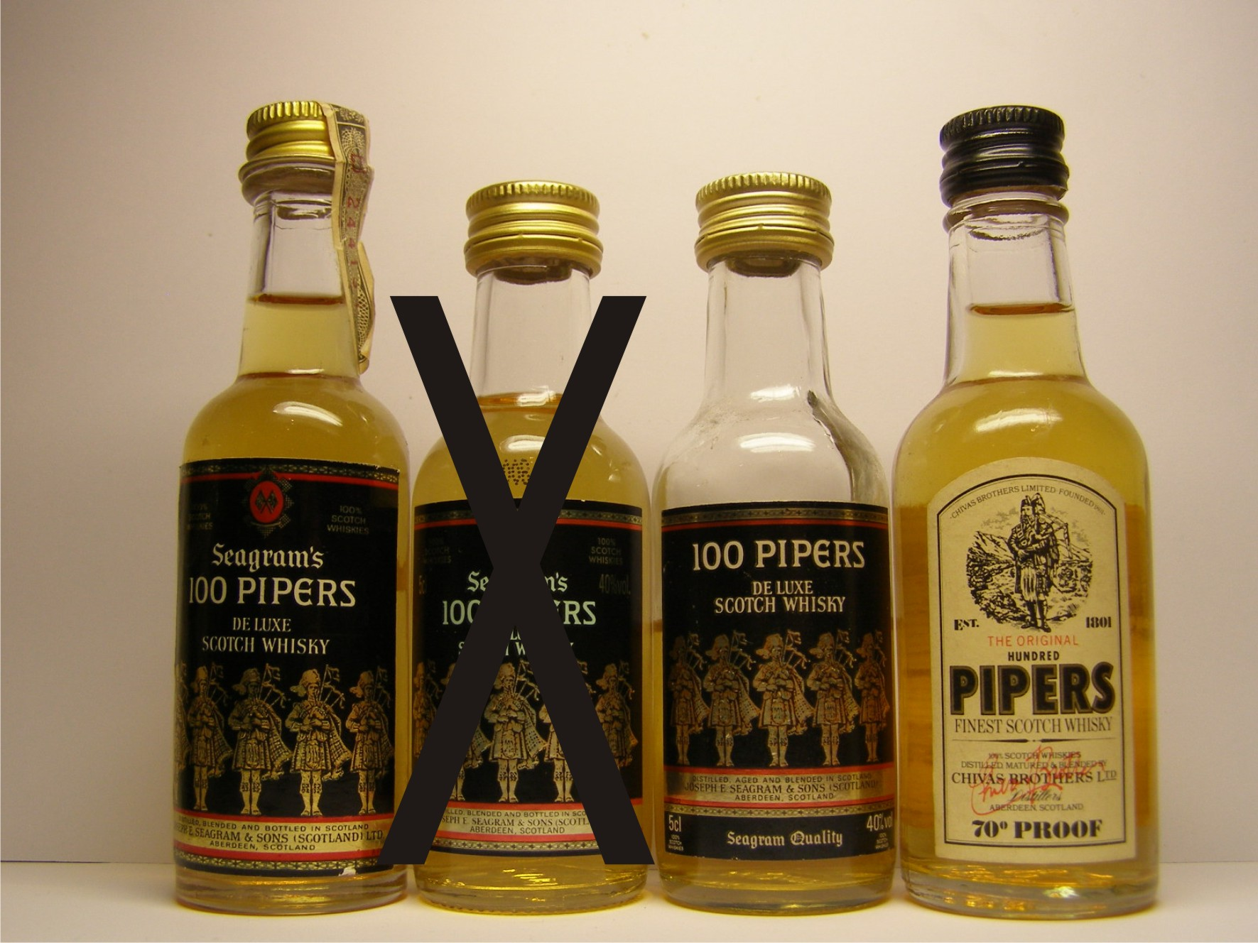 100 PIPERS SEAGRAM´S