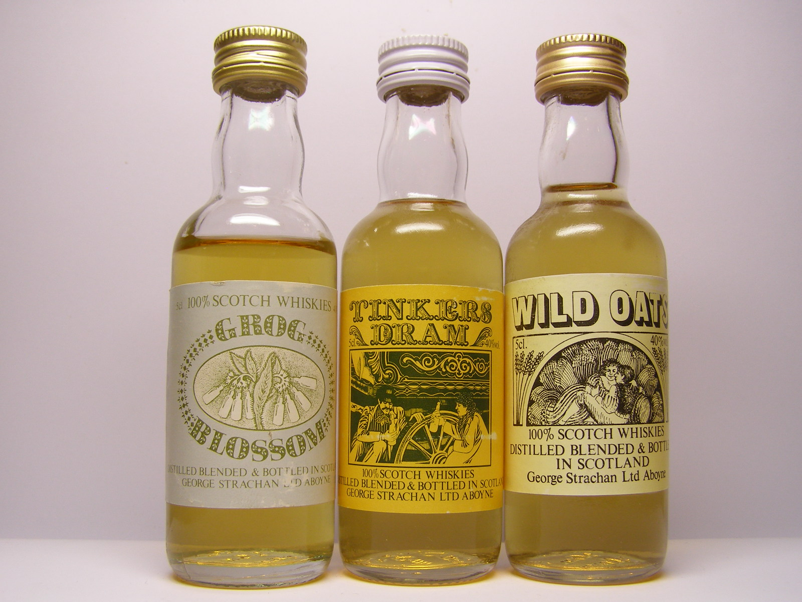 GROG BLOSSOM , TINKERS DRAM , WILD OATS