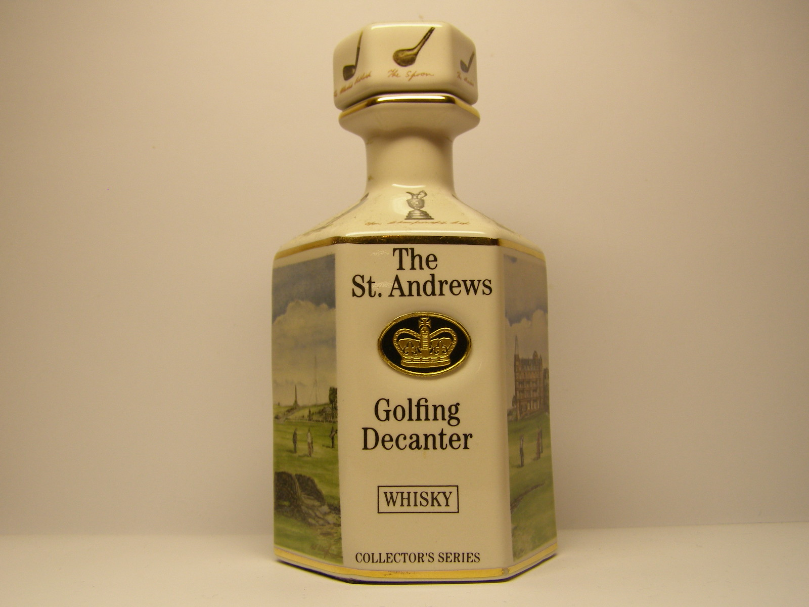 The St.ANDREWS Golfing Decanter