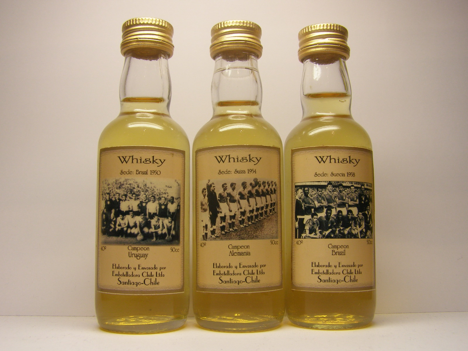 Campeon 1950 , 1954 , 1958 Whisky