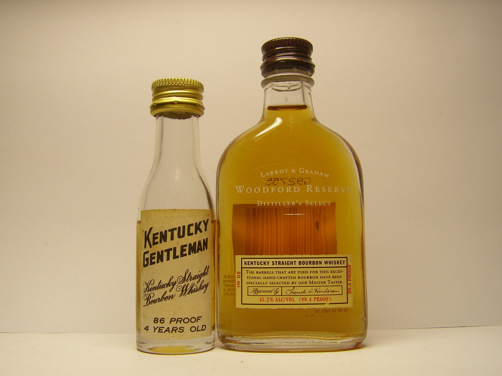KENTUCKY GENTLEMAN , WOODFORD RESERVE