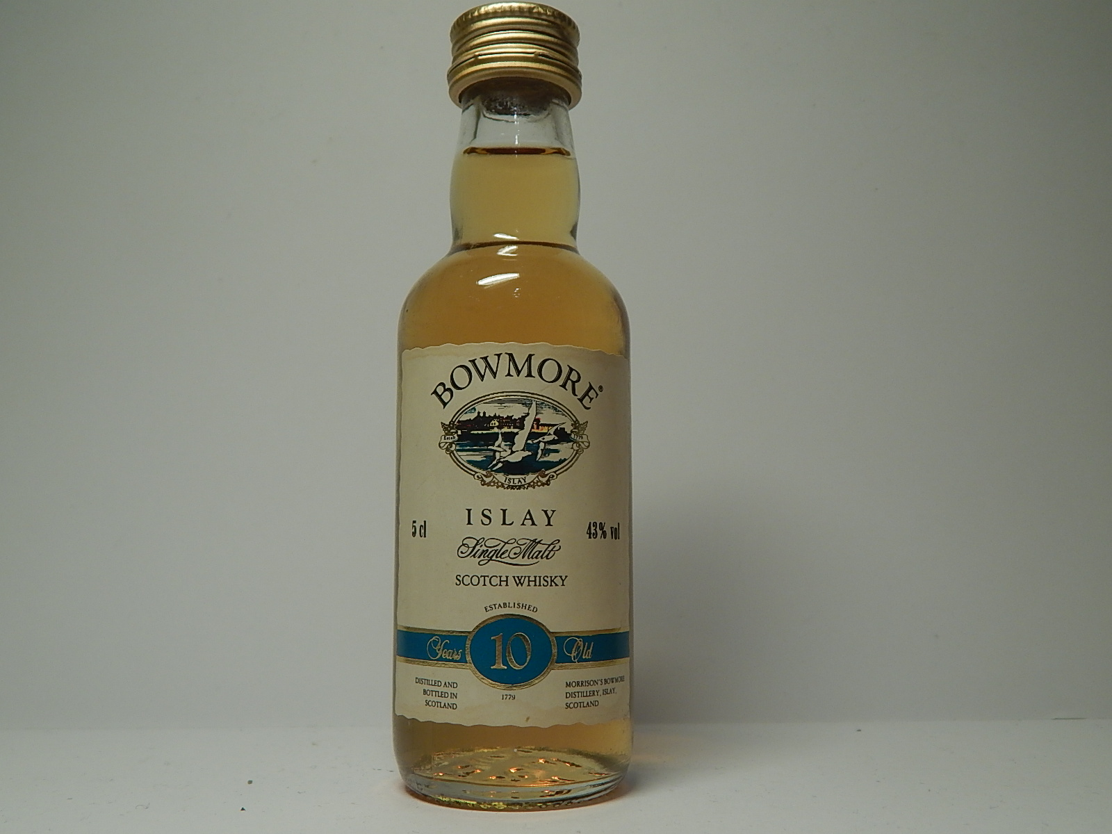 ISMSW 10yo 5cl 43%vol