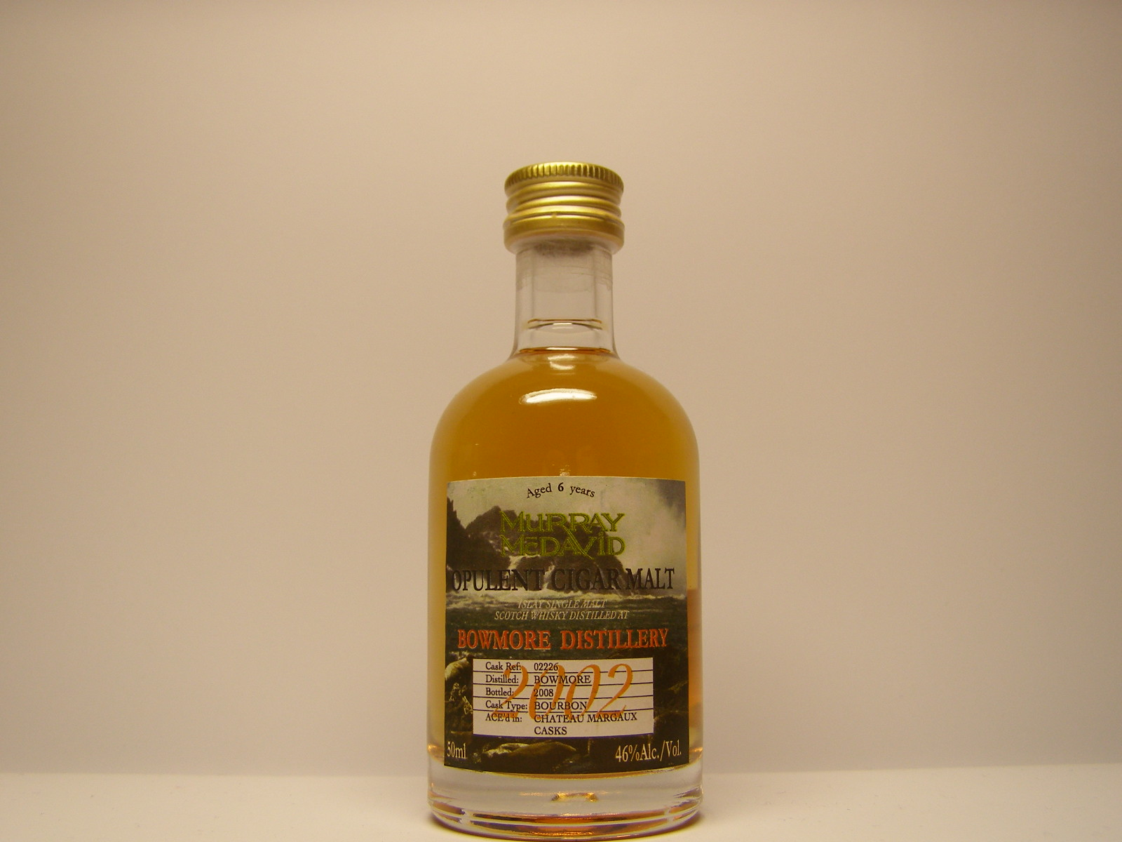 "ISMSW 6yo 2002-2008 ""Murray McDavid"" 50ml 46%Alc./Vol."