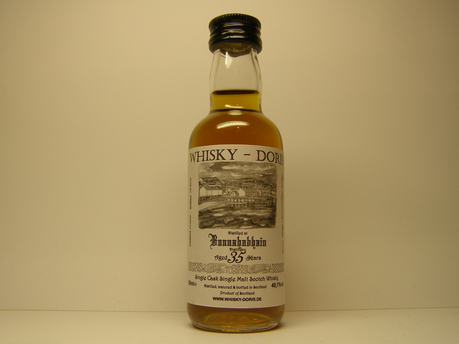 "SCSMSW 35yo 1976-2012 ""Whisky - Doris"" 50mle 49,1%vol."