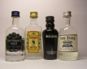HAYMAN´S , GIN ABET , BULLDOG , THE DUKE