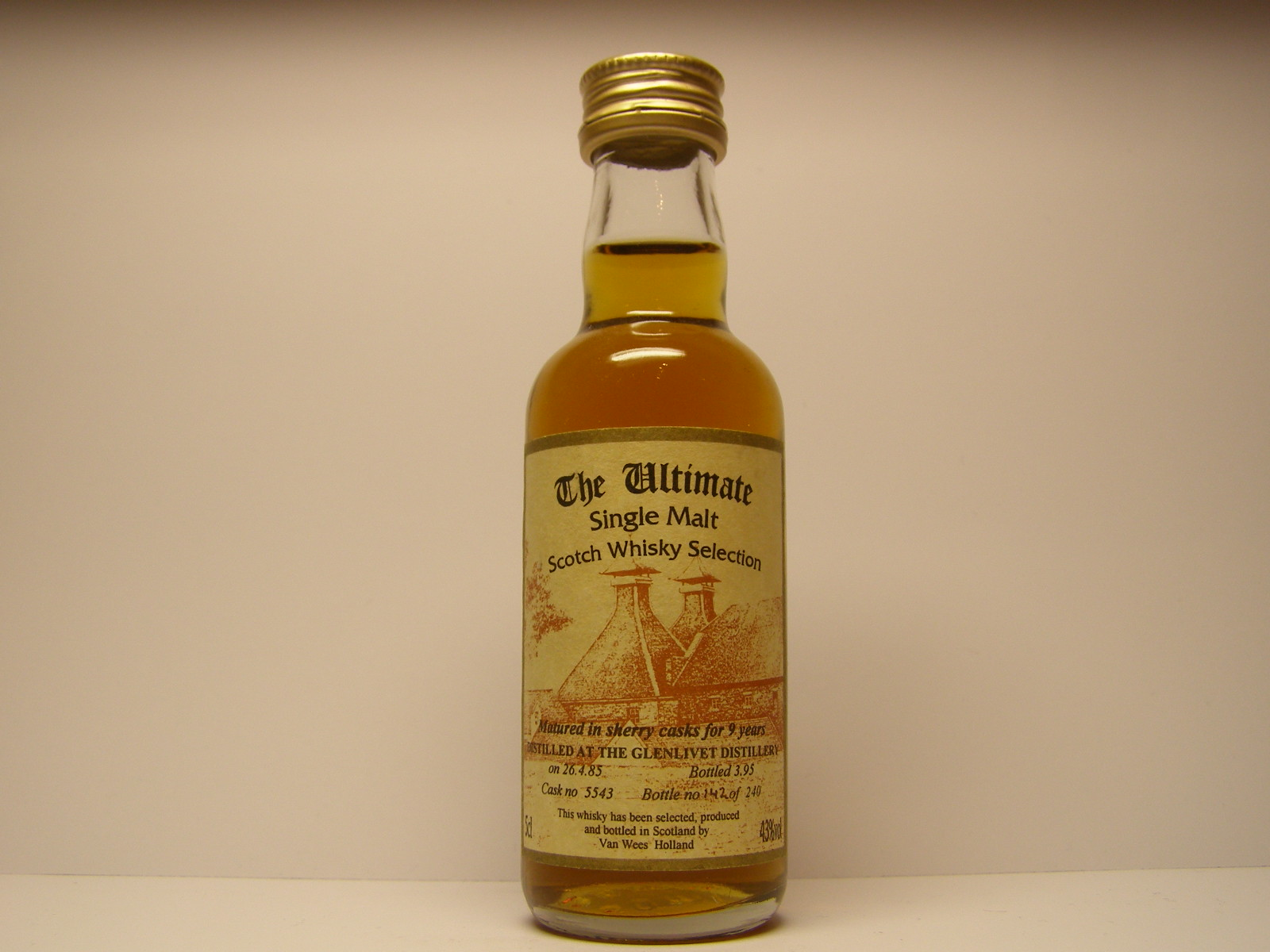 "SMSW 9yo 1985-1995 ""Ultimate"" 5cl 43%vol"