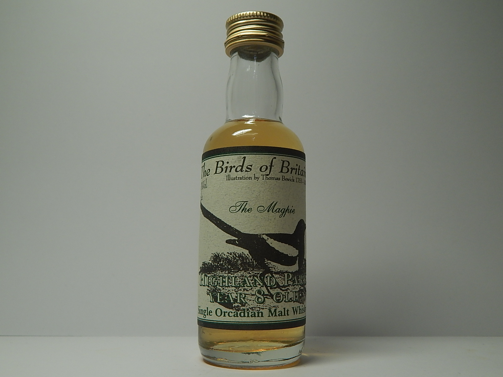 "SOMW 8yo ""The Birds of Britain"" 5cl.e 43%Vol."