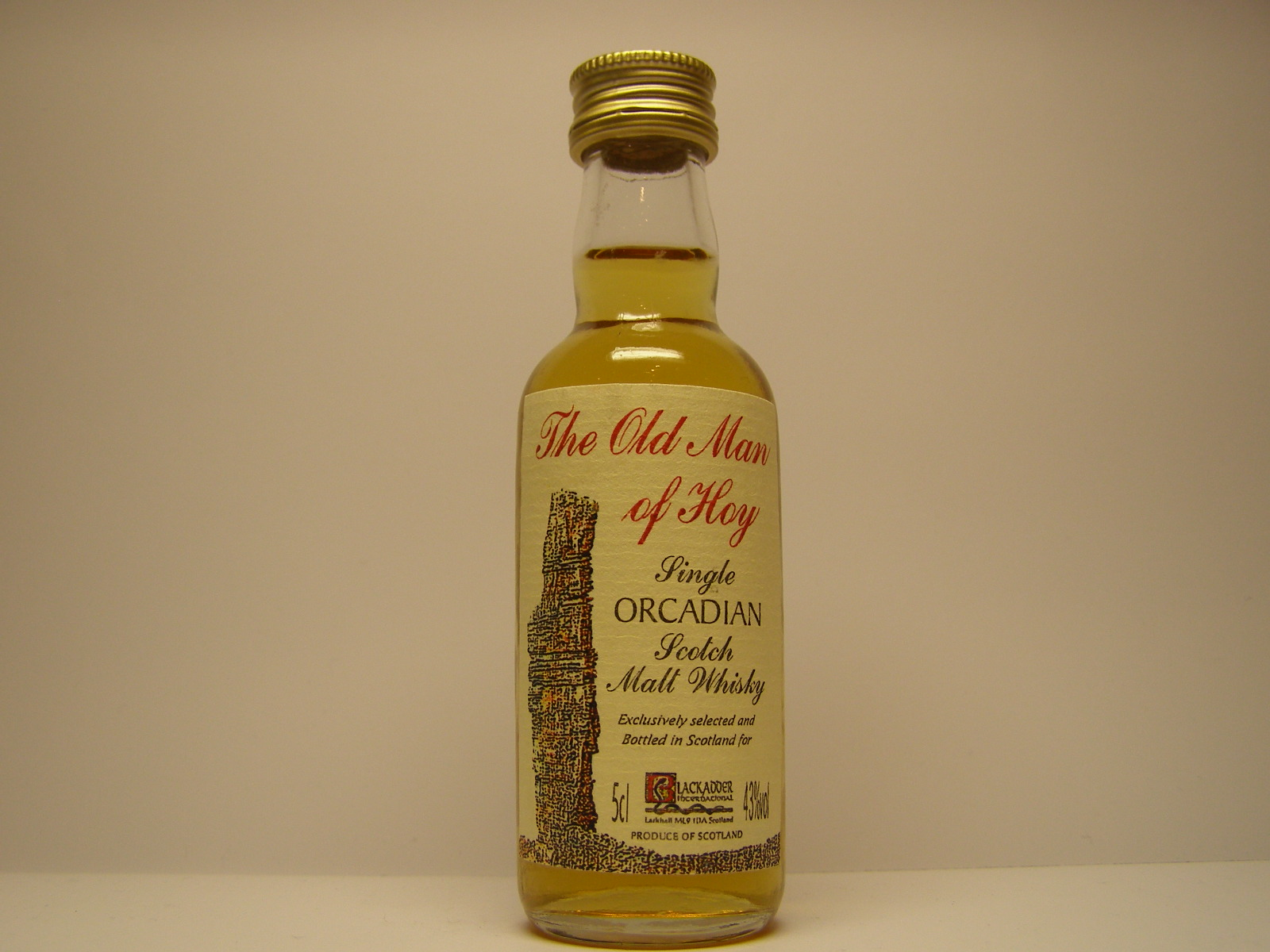 "Old Man of Hoy SOSMW ""Blackadder"" 5cl 43%vol"