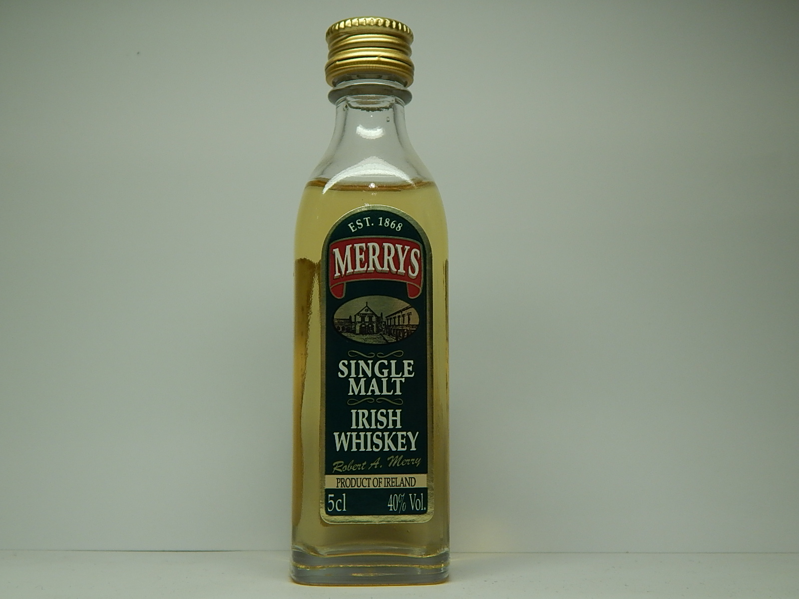 MERRYS Single Malt Irish Whiskey