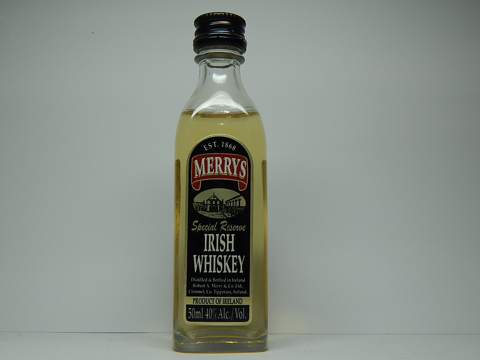 MERRYS Special Reserve Irish Whiskey