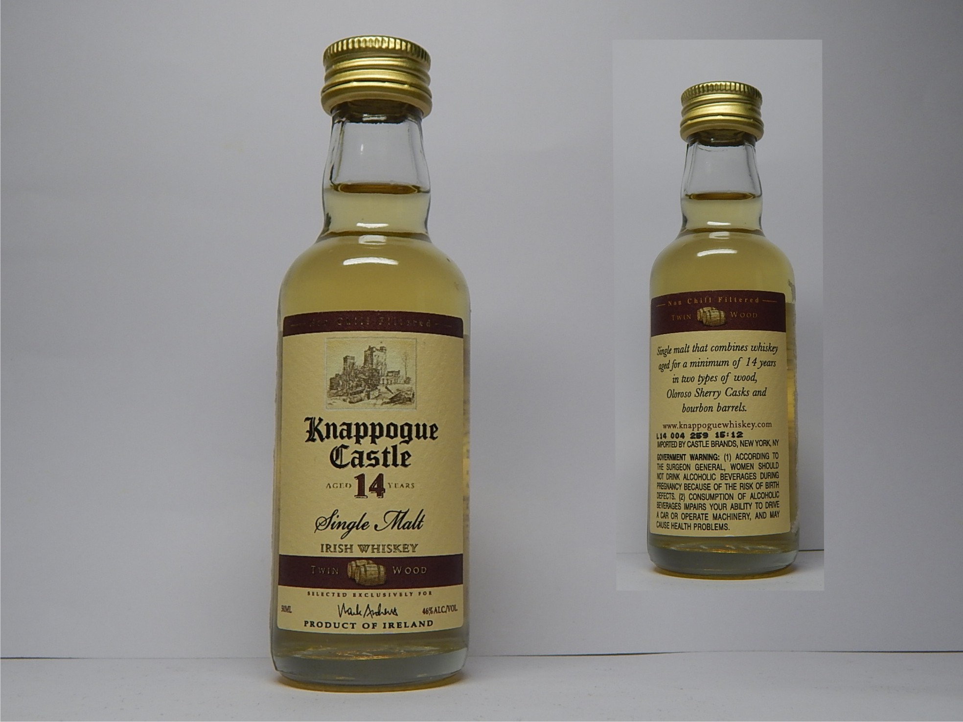KNAPPOGUE CASTLE 14yo SMIW