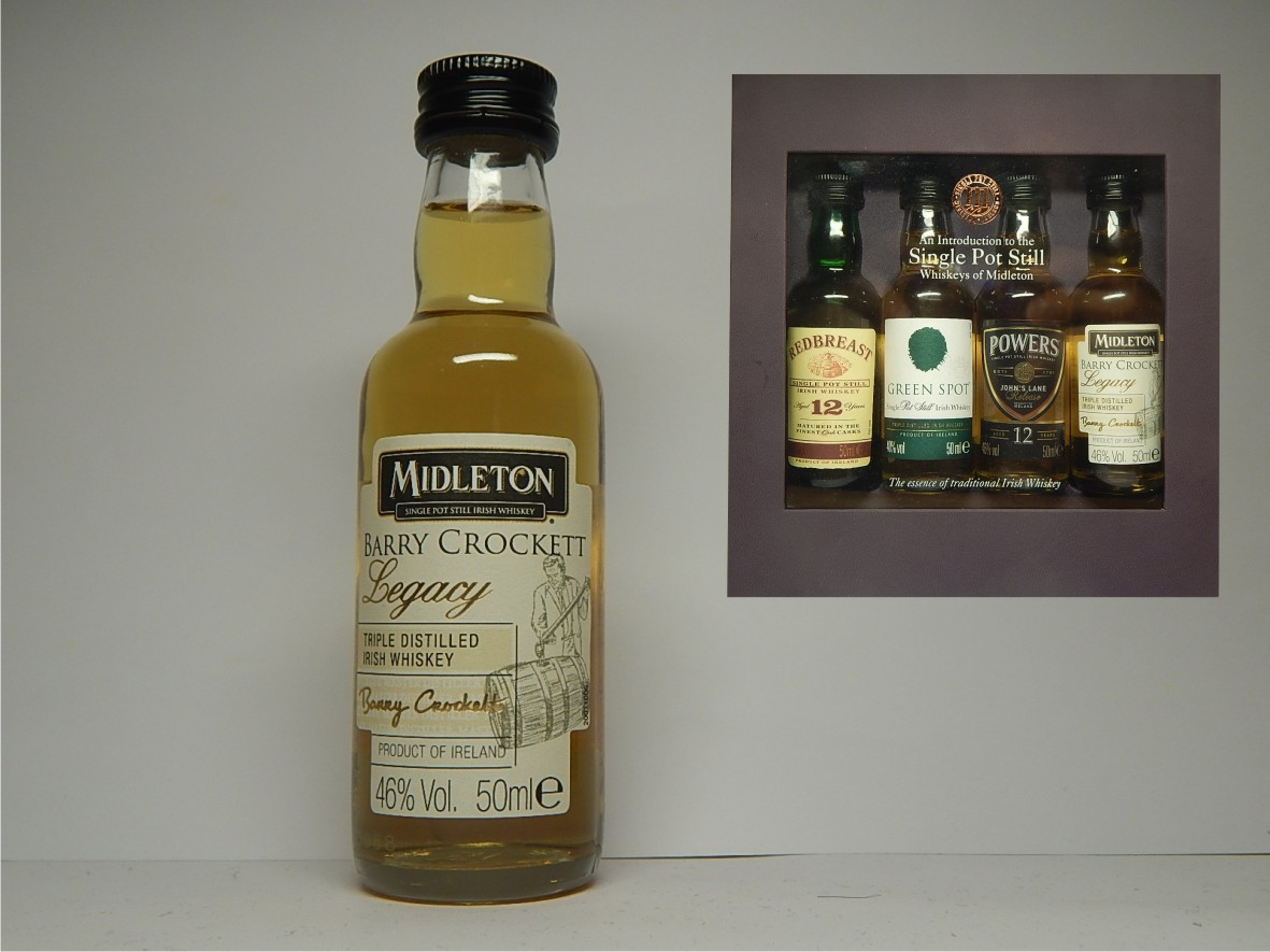 MIDLETON Barry Crocket Legacy Irish Whiskey