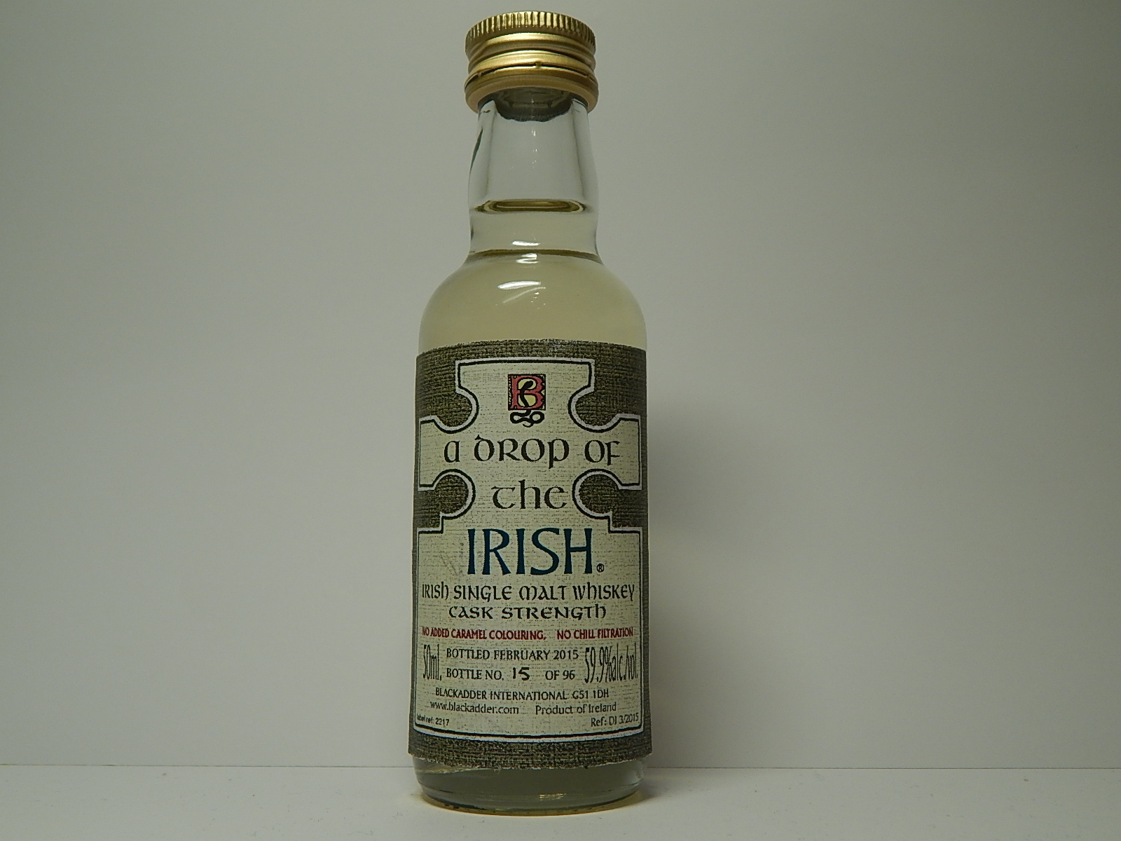 A DROP OF THE IRISH ISMW