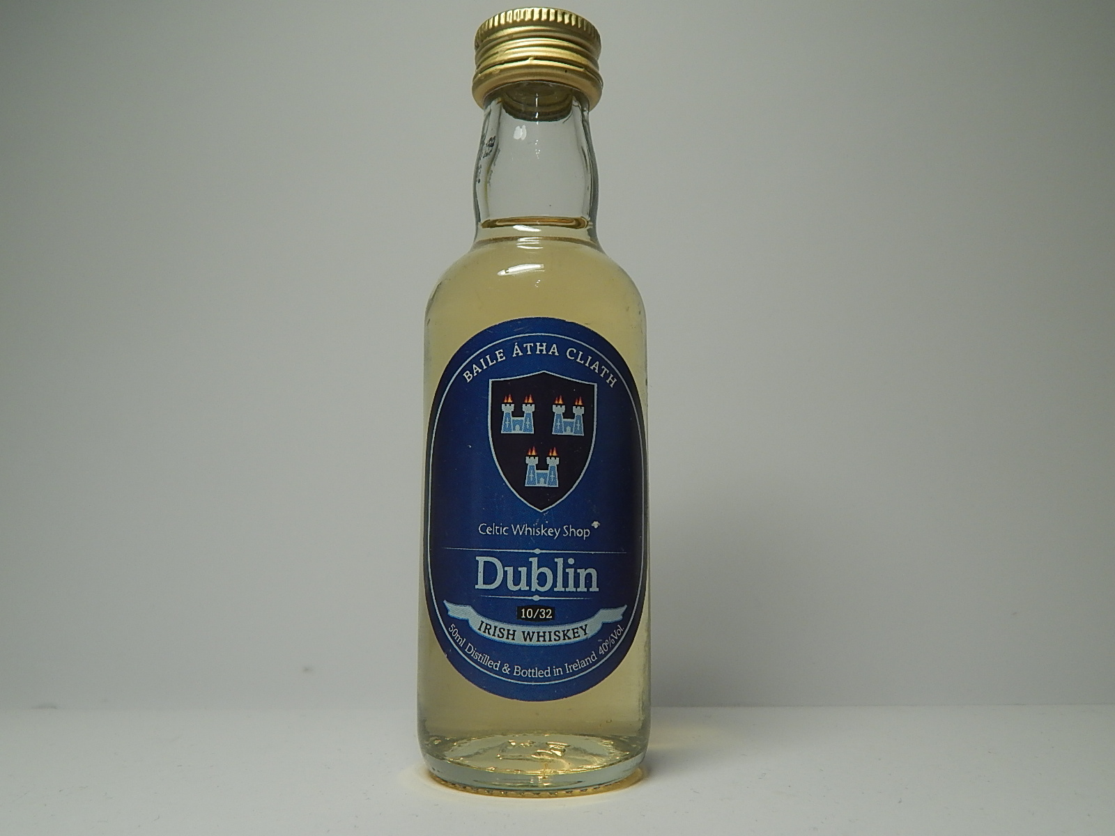 DUBLIN Irish Whiskey