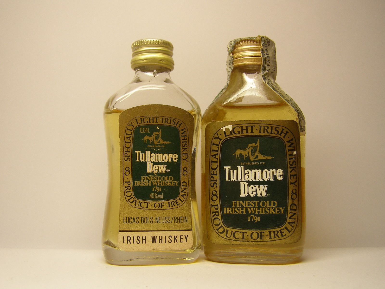 TULLAMORE DEW Finest Old IW