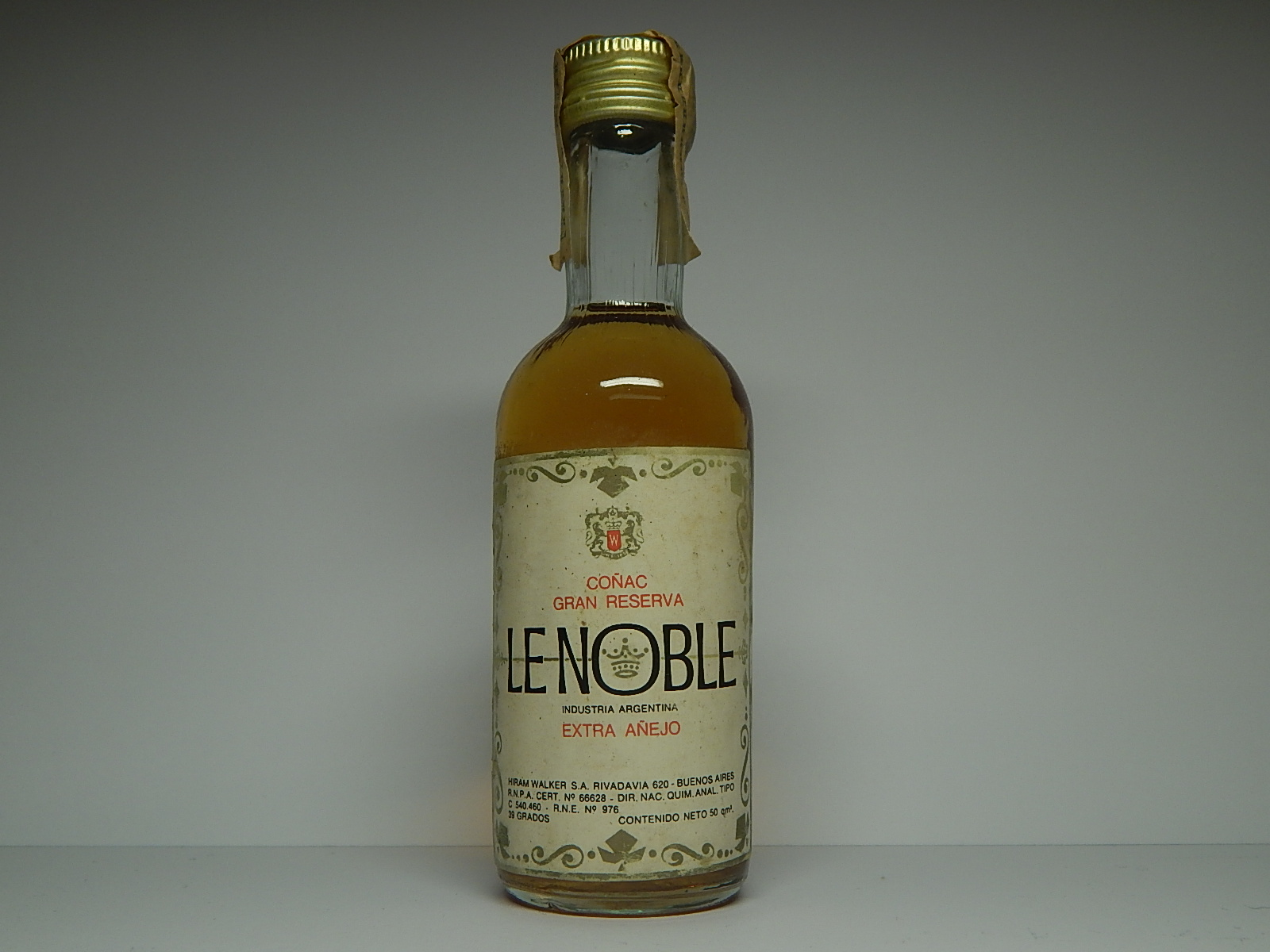 "LE NOBLE Extra Anejo Coňac ""Argentina"""