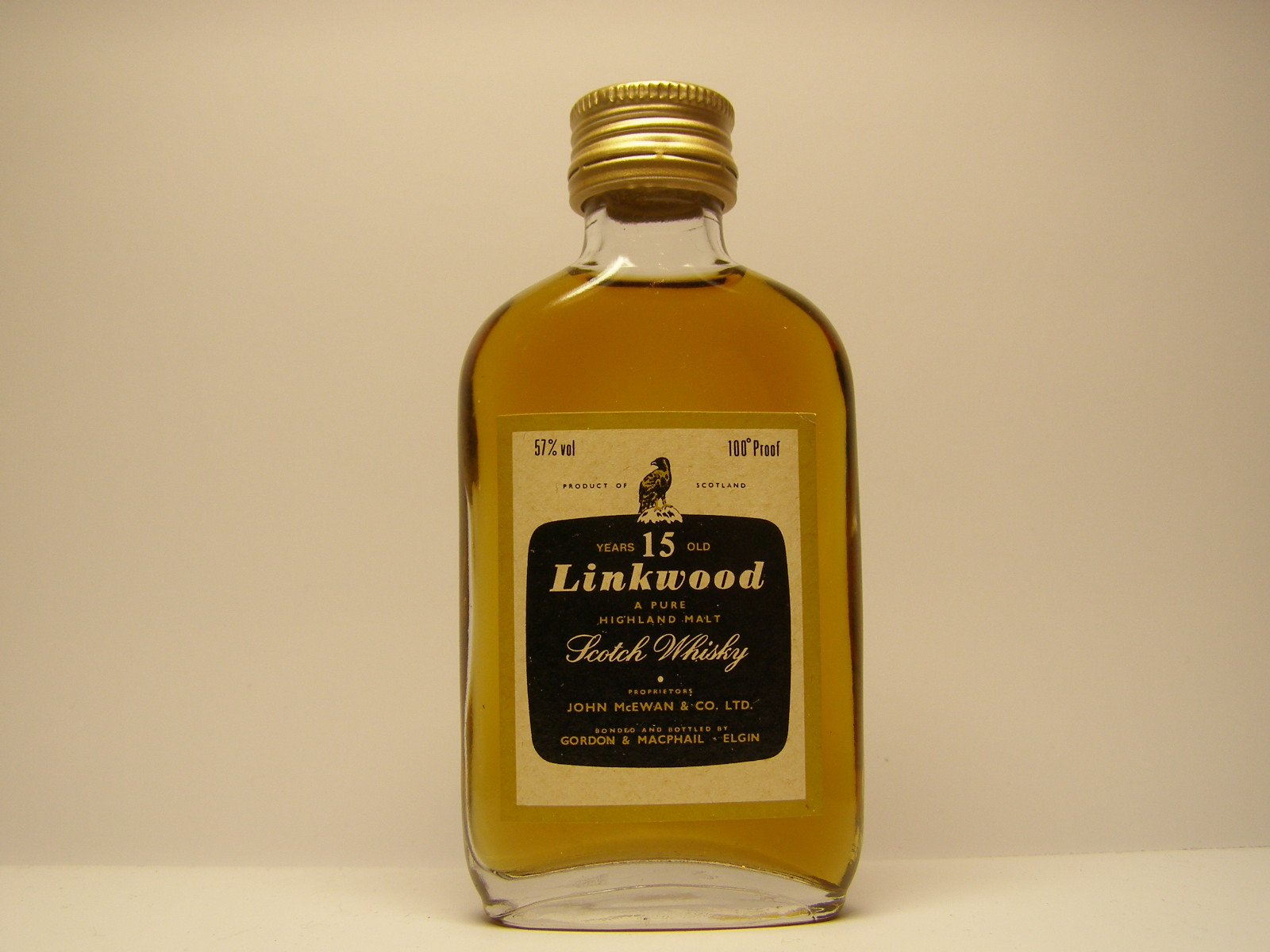 PHMSW 15yo 100´Proof 57%vol