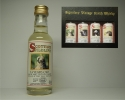 "SCOTTISH WILDLIFE SMSW 14yo ""Signatory"" 5cl 43%vol"