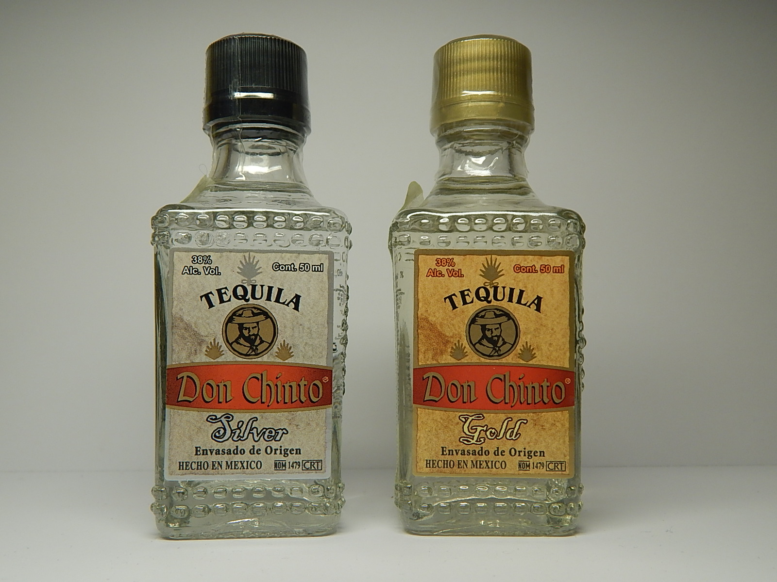 DON CHINTO Silver - Gold Tequila