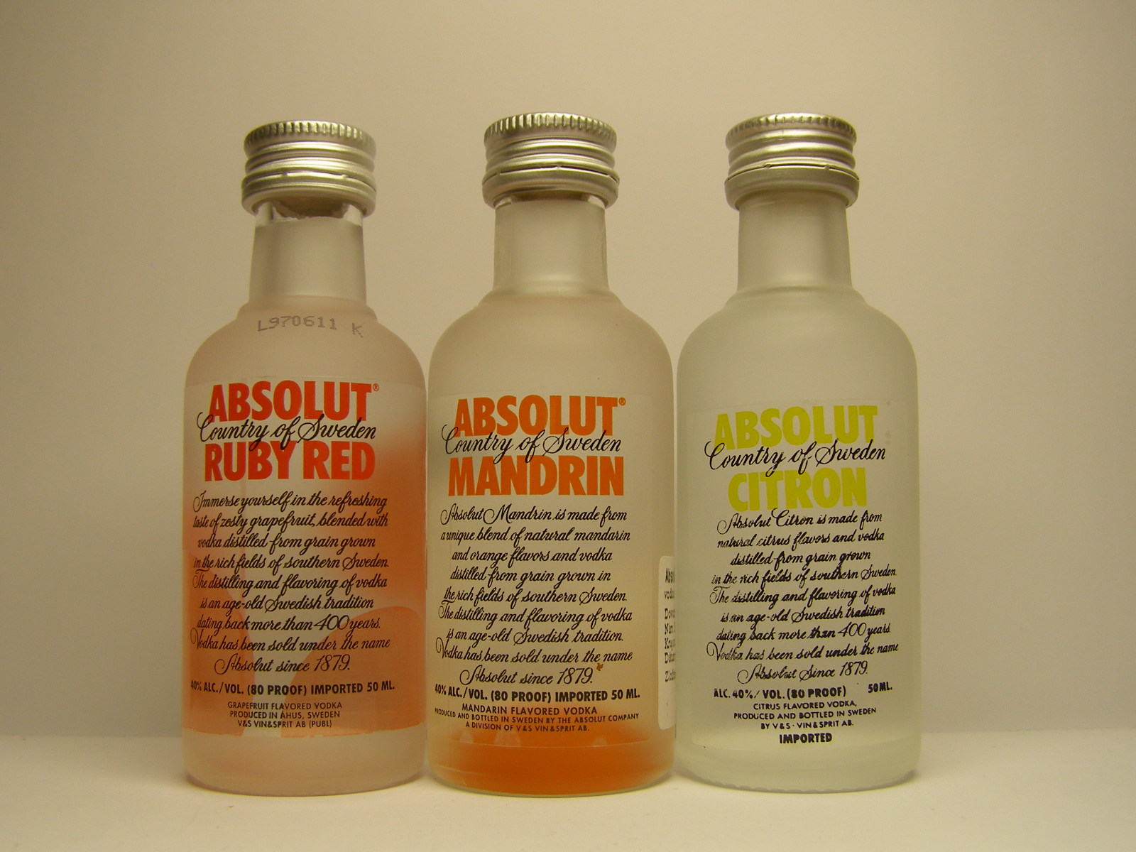 ABSOLUT Ruby Red - Mandrin - Citron