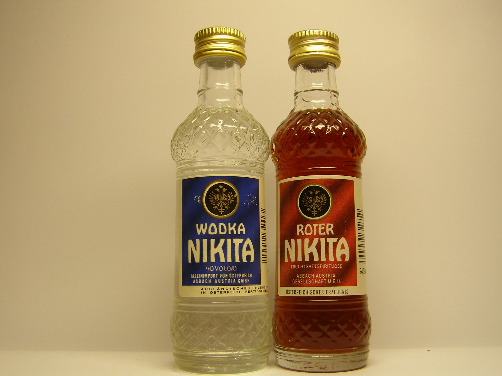 NIKITA Vodka - Roter