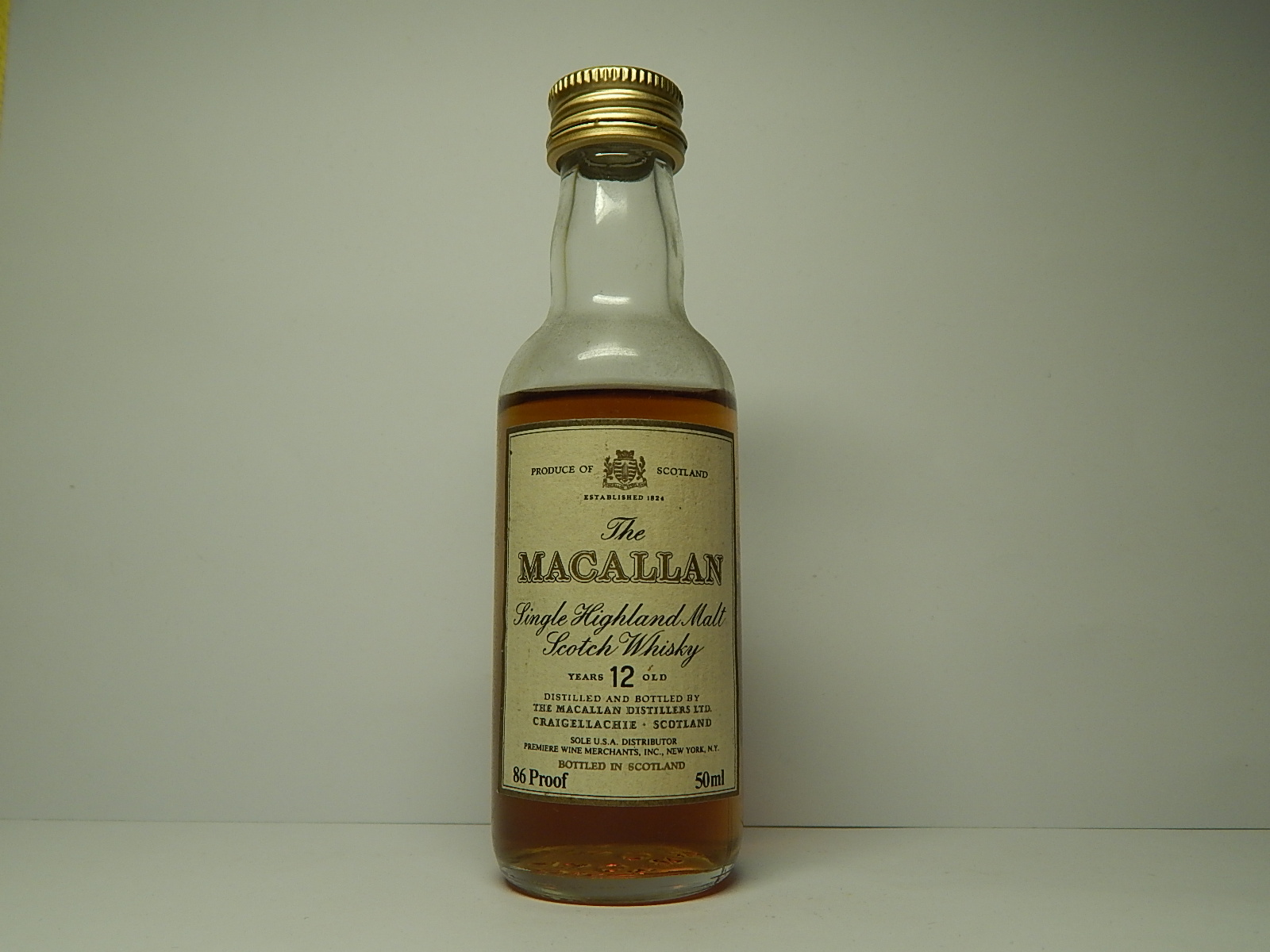 89.MACALLAN 12yo Malt Whisky